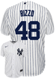 Anthony Rizzo Jersey - NY Yankees Replica Adult Home Jersey