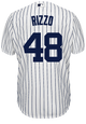 Anthony Rizzo Youth Jersey - NY Yankees Replica Kids Home Jersey - back