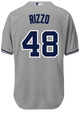 Anthony Rizzo Jersey - NY Yankees Replica Adult Road Jersey - back