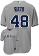 Anthony Rizzo Jersey - NY Yankees Replica Adult Road Jersey