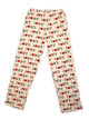 I Love NY White All-over Print Pajama Pants - flat