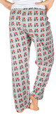 I Love NY Grey Allover Print Pajama - back