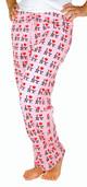 I Love NY Pink Allover Print Pajama - front
