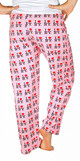 I Love NY Pink Allover Print Pajama - back