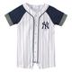 Yankees Pinstripe Baby Romper