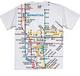 NYC Subway Map White Mens Tee