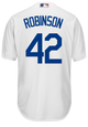 Jackie Robinson Cooperstown Replica Jersey - back