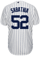 Yankees Replica CC Sabathia Home Jersey