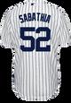 Yankees Replica CC Sabathia Youth Home Jersey