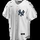 Yankees Replica Derek Jeter Home Jersey Nike -  Front
