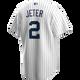 Yankees Replica Derek Jeter Home Jersey