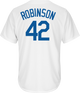 """Jackie Robinson Cooperstown """"Brooklyn"""" Jersey - back"""