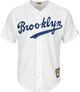 """Jackie Robinson Cooperstown """"Brooklyn"""" Jersey - front"""