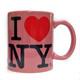 I Love NY Pink 11oz Mug