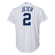 Yankees Replica Derek Jeter Youth Home Jersey - back