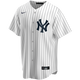 Yankees Replica Derek Jeter Youth Home Jersey-front