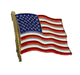 USA Flag Lapel Pin - American Flag Pin