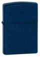 Classic Navy Blue Matte Zippo