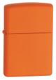 Classic Orange Matte Zippo