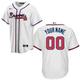 Atlanta Braves Replica Personalized Home Jersey