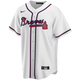 Atlanta Braves Replica Personalized Youth Home Jersey - front