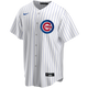 Chicago Cubs Replica Personalized Youth Home Jersey- Front