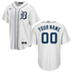 Detroit Tigers Replica Personalized Home Jersey - Nike