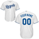 Kansas City Royals Replica Personalized Youth Home Jersey