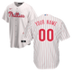 Philadelphia Phillies Replica Personalized Youth Home Jersey