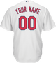 St Louis Cardinals Replica Personalized Youth Home Jersey - back