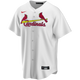 St Louis Cardinals Replica Personalized Youth Home Jersey - front