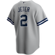 Derek Jeter NY Yankees Replica Road Jersey