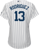 Alex Rodriguez NY Yankees Replica Ladies Home Jersey - back