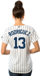 Alex Rodriguez NY Yankees Replica Ladies Home Jersey