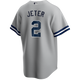 Derek Jeter NY Yankees Replica Youth Road Jersey