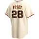 Buster Posey SF Giants Replica Adult Home Jersey - back