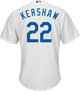 Clayton Kershaw LA Dodgers Replica Adult Home Jersey