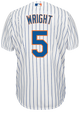 David Wright NY Mets Replica Adult Home Jersey