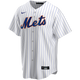David Wright NY Mets Replica Adult Home Jersey - front