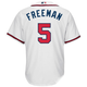 Freddie Freeman Atlanta Braves Replica Adult Home Jersey