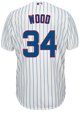 Kerry Wood Chicago Cubs Replica Adult Home Jersey