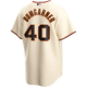 Madison Bumgarner SF Giants Replica Adult Home Jersey - back