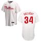 Philadelphia Phillies Adult Replica Roy Halladay Home Jersey