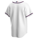 Atlanta Braves Replica Adult Home Jersey - back