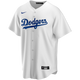 La Dodgers Replica Adult Home Jersey - Front