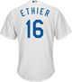 Andre Ethier LA Dodgers Replica Youth Home Jersey - back