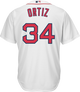 David Ortiz Boston Red Sox Replica Youth Home Jersey