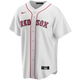 Dustin Pedroia Boston Red Sox Replica Youth Home Jersey - front