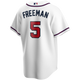 Freddie Freeman Atlanta Braves Replica Youth Home Jersey