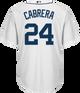 Miguel Cabrera Detroit Tigers Replica Youth Home Jersey